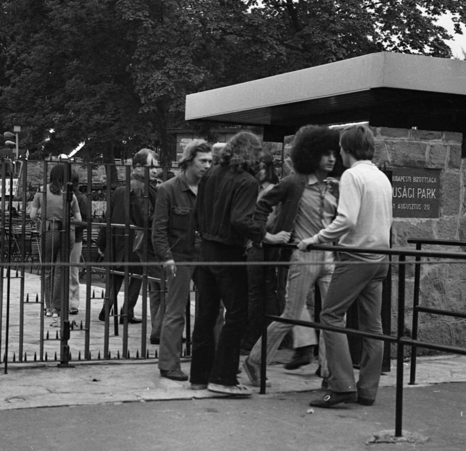 Az Ifjúsági Park első aranykora 1966 és '69 között volt, vagyis többé-kevésbé egybeesett a magyar beatéval általában. Németh Lehel és a Reszket a hold a tó vizén, meg az első rock and roll figurázások után már a magyar nyelven éneklő Metro és az Illés is fellépett, majd jöttek mások mellett a Kex performanszai – vagyis a politikailag ártalmatlannak gondolt könnyed szórakozás után zeneileg is egyre komolyabbak voltak és ideológiailag is alternatívát mutattak a fellépések.