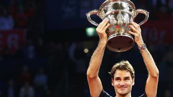 Federer együtt hullámzott a közönséggel