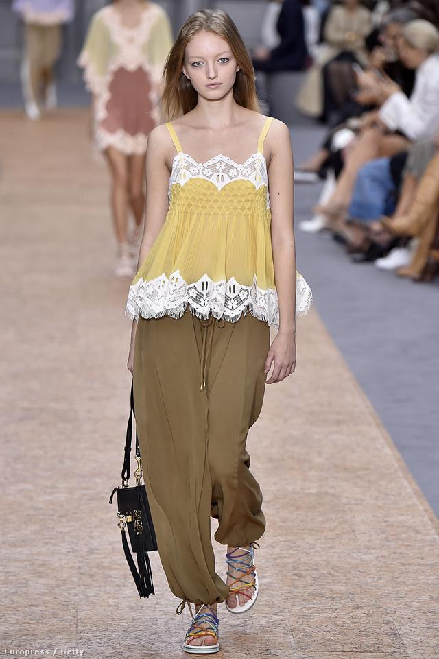A Chloe által bemutatott egyszerű, hétköznapis szettekkel tele vannak a fast-fashion boltok.