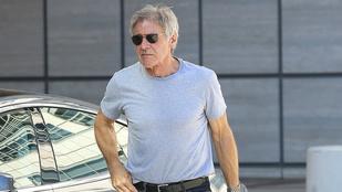Harrison Ford kicsattan az erőtől a márciusi balesete után