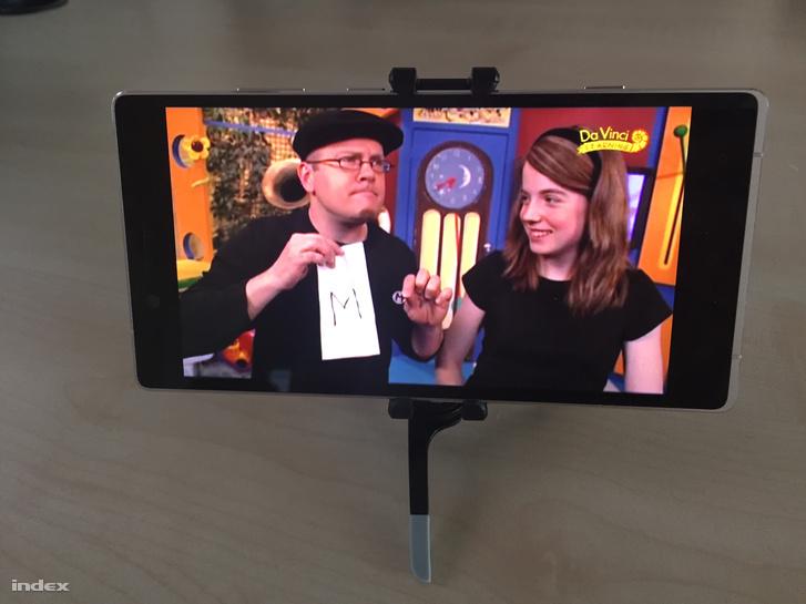 Az Allview X2 Soul Xtreme hatalmas kijelzőjén jól mutat a tévéadás