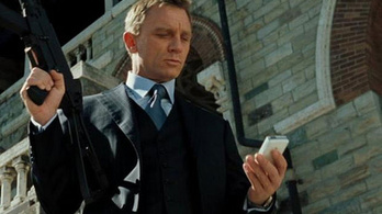 James Bondnak nem elég jó az Android