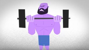 Az edzéstől sérül az izomrost, de az csak jó