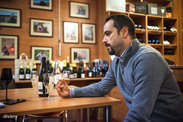 """""""A statisztikák szerint az átlag magyar ember 700 forintos bort tud vásárolni magának, amiben benne van a címke, a dugó, a szállítás is. 1500 forint alatt nem lehet fogyasztható bort készíteni."""""""