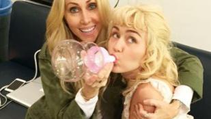 Ez a fotó ezerszer durvább Miley Cyrus-ról, mint bármelyik pucér képe