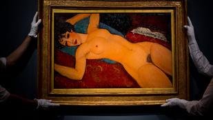 Fanszőrzet miatt zárták be a világ második legdrágább festője kiállítását