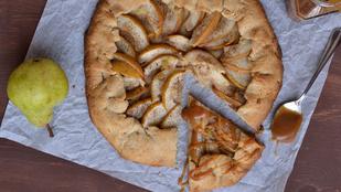 Körtés-mandulás rusztikus pite