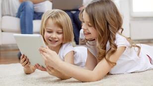 Igenis jót tesz, ha sokat van a gyerek kezében a tablet