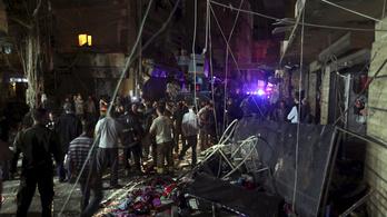 Robbantás Bejrútban: sok a halott és a sérült