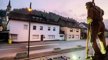 Halott csecsemőket találtak egy német házban