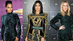 Melyik celebnőn jobb a Balmain x H&M?