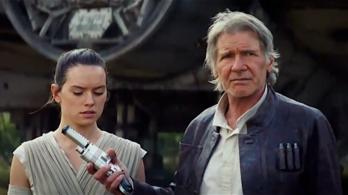 Itt az újabb előzetes a Star Wars 7-hez, extrém sok spoilerrel