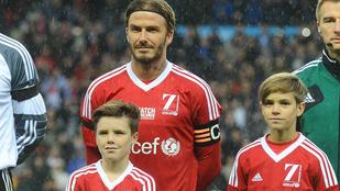 A Beckham fiúk focimezben fejtik ki tökéletes hatásukat