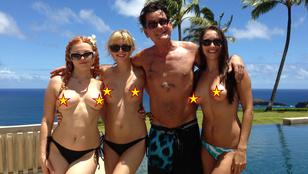 Charlie Sheen szinte csak pornósokkal jött össze az utóbbi pár évben