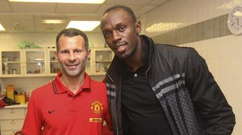 Csak a sérülésén múlik Usain Bolt debütálása a Manchester Unitedben