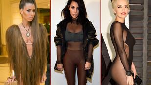 Ezek a nők legalább egyszer rettenetesen választottak ruhát