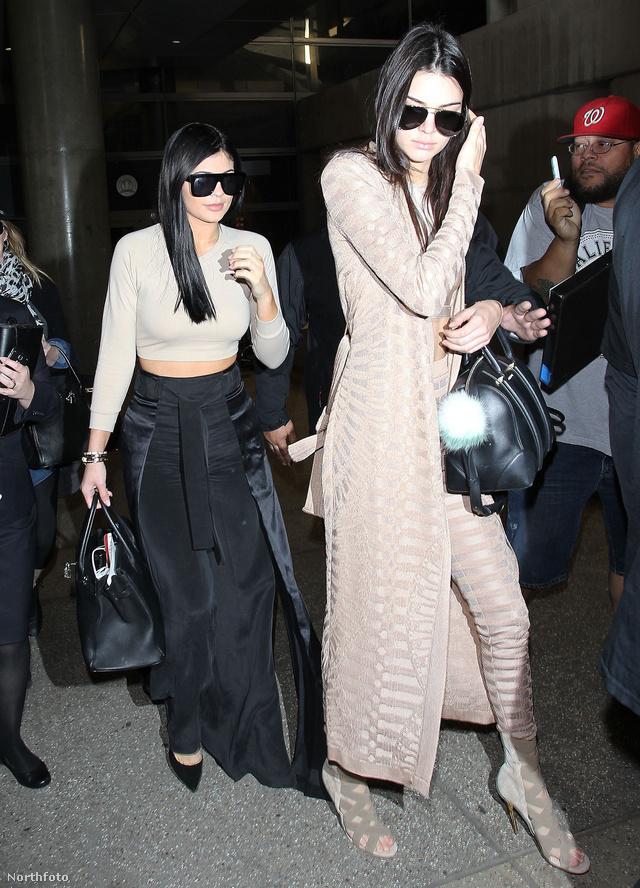 A Jenner-lányokat elég sokszor látni együtt