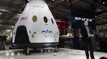 A SpaceX lesz a NASA új űrtaxisa