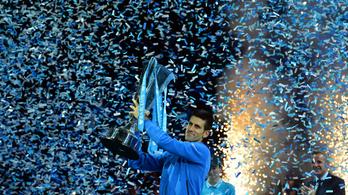 Djokovics: fantasztikus szezonhoz illő zárás