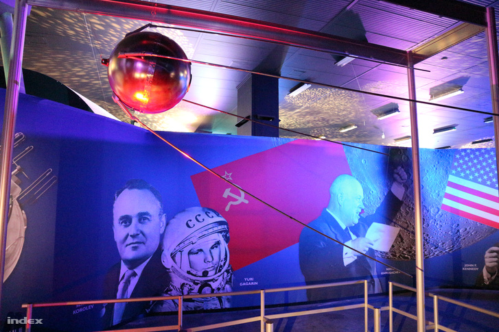 Az első szovjet műhold, a Szputnyik