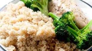 Ezekkel az ételekkel fogyhat: quinoás brokkoli, joghurttal