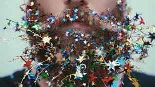 Karácsonyra díszítse fel a szakállát is