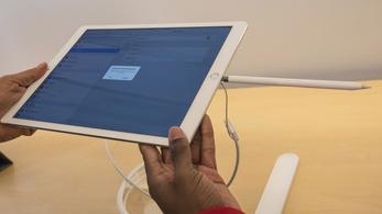 Lefagy a töltéstől az iPad Pro