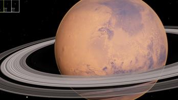 Gyűrűje lesz a Marsnak is