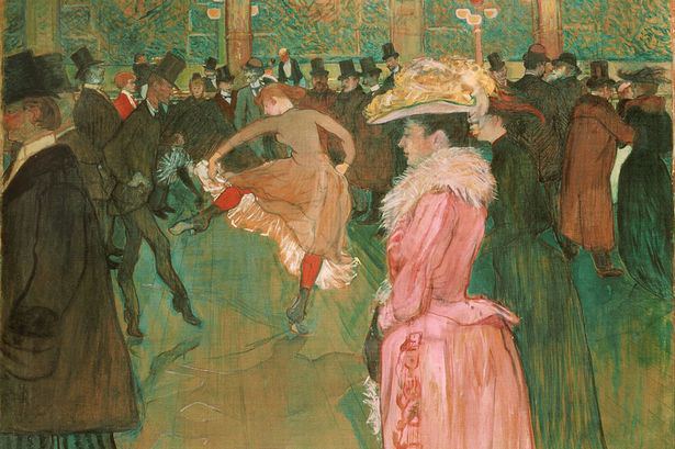 A Moulin Rouge-ban (1890)