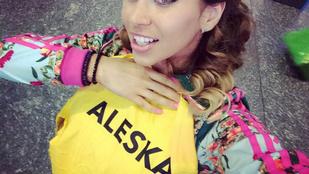 Aleska Diamond mindenhez ért. Mindenhez IS.