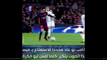 A szupercsel, amit Messitől is ritkán láthat