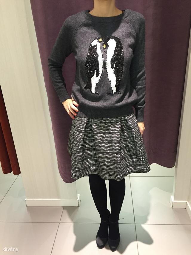 H&M: pulóver - 5990 Ft. szoknya - 9490 Ft