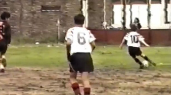Sosem látott felvétel került elő a 12 éves Messiről