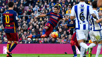 Messi a 90. percig nézte a Neymar-Suarez-showt