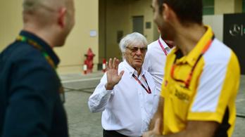 Ecclestone: A Lotusnak annyi, ha nem jön a Renault