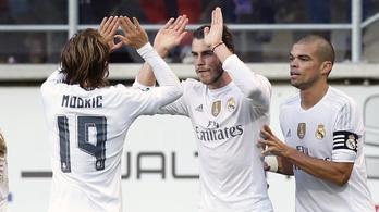 Bale 10 hónapos szériát szakított meg, megmentve a Realt