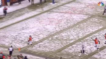 Szakadó hóesés, 48 yardos futás, ez nyírta ki a Patriotsot