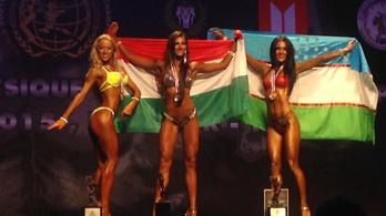 Taroltak a magyar nők a fitnesz-vb-n