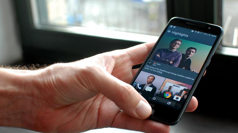 Ránézésre iPhone, bekapcsolva Android