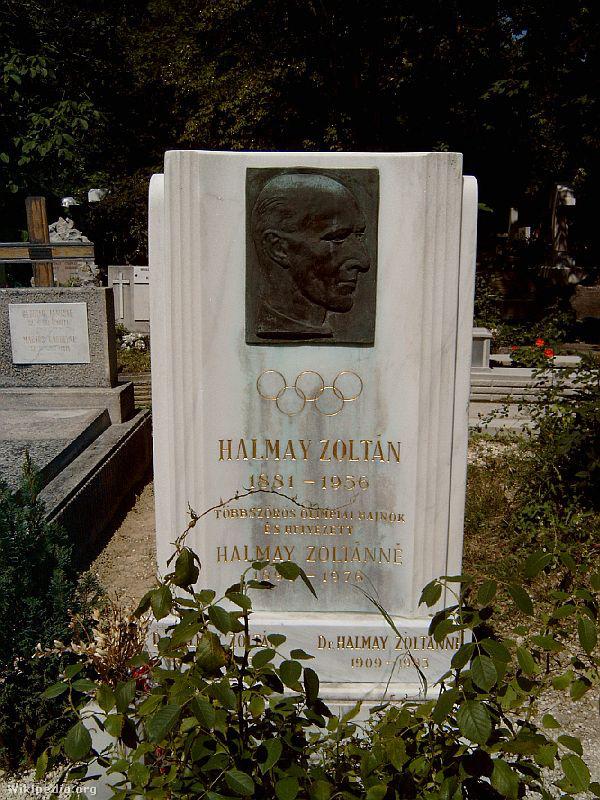 Halmay Zoltán sírja