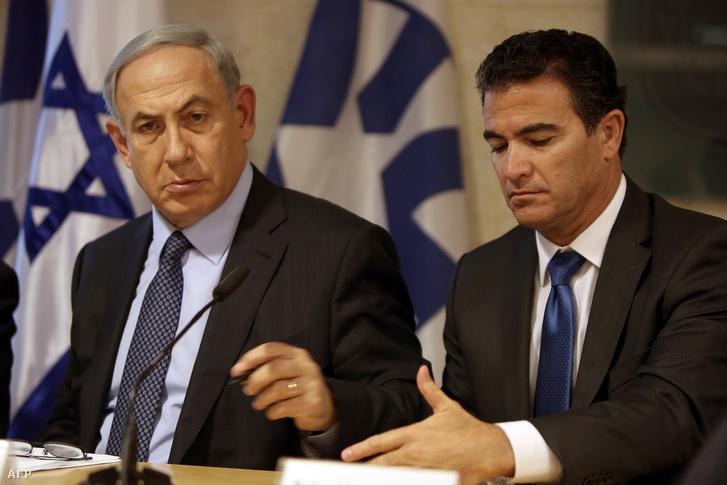 Benjámin Netanjahu és Joszi Kohen