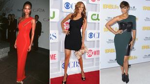 Tyra Banks is ragaszkodik a jól bevált ruhákhoz