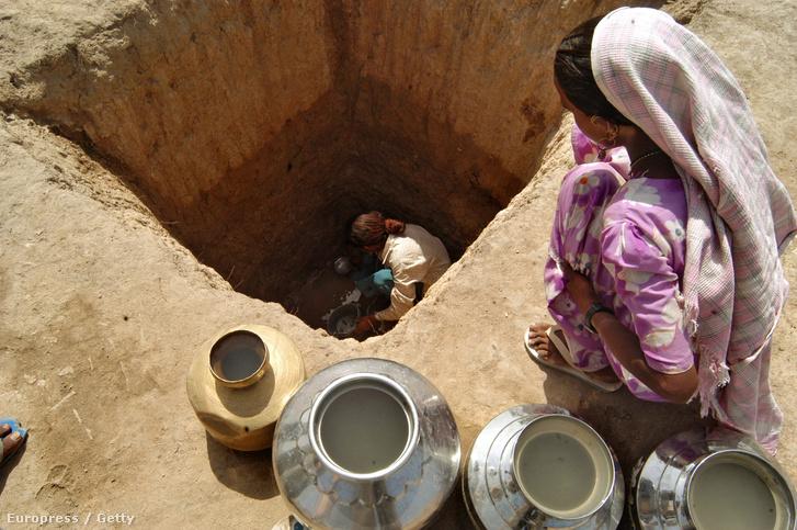 Kút Indiában (képünk illusztráció)