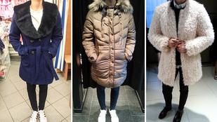 Itt a hideg, kell egy jó kabát!