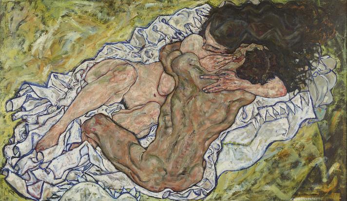 Egon Schiele: The Embrace