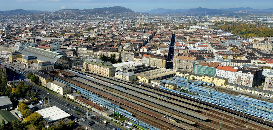 9323  Budapesten a Keleti Palyaudvar