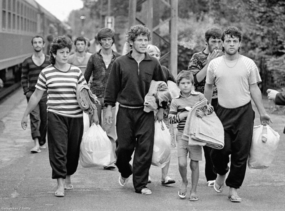 Németországba érkező albán bevándorlók (1990)