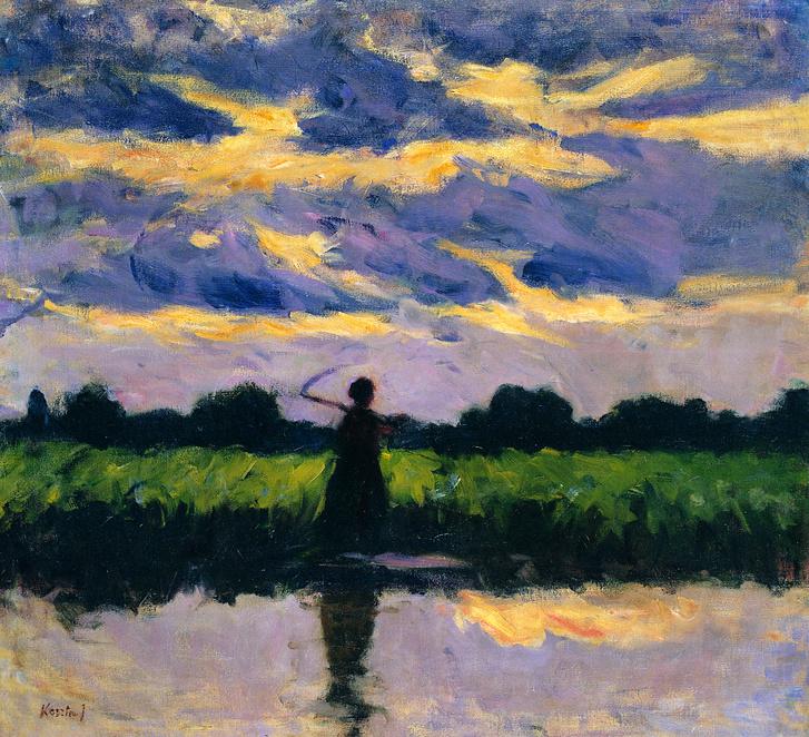 Koszta József: Eső után (Vihar előtt), 1909