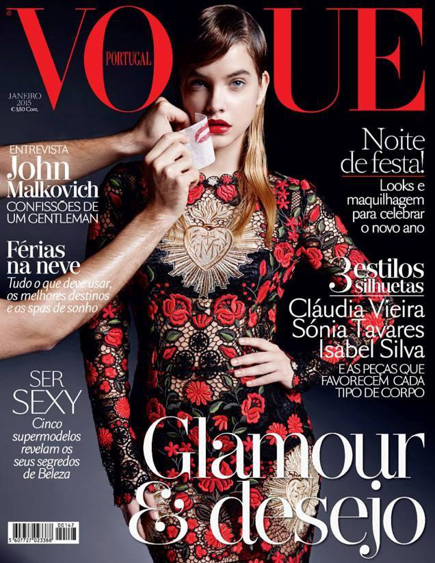 Januárban helyet kapott a portugál Vogue elején is.