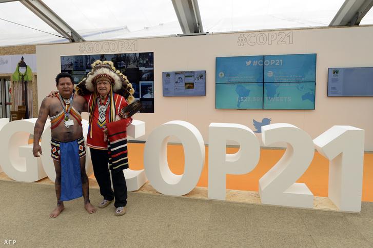 Panama képviselői a klímacsúcson